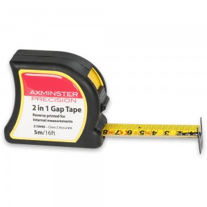 Axminster Precision 2 in 1 Gap Tape