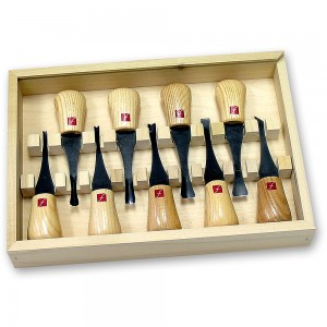 Flexcut FR405 9 Piece Deluxe Palm Set