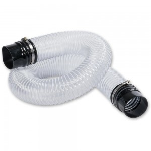 Axminster 100mm Flexible Extraction Hose Kit