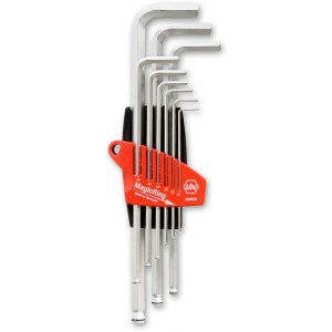 Wiha 9 Piece Magic Ring Metric Hex Key Set