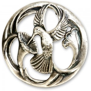 Craftprokits Pewter Lid - One Bird