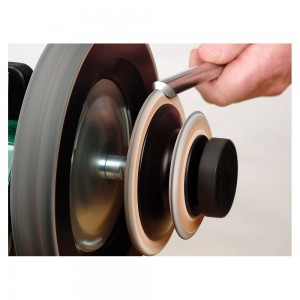 Tormek LA-120 Profiled Leather Honing Wheel
