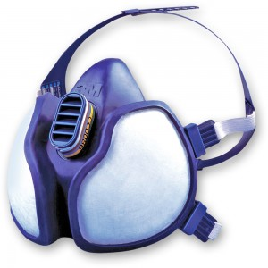 3M 4000 Series Gas, Vapour and Particulate Respirators