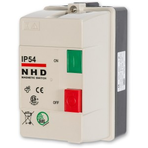 Axminster NVR Switches 230V 1ph