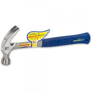 Estwing Vinyl Handled Curved Claw Hammer - 450g(16oz)