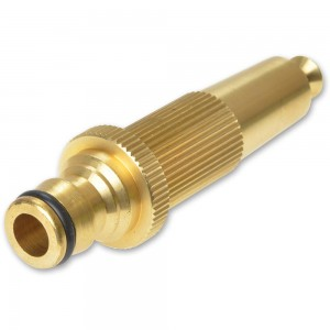 Rehau Adjustable Brass Spray Nozzle