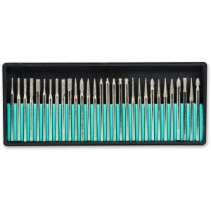 Diamond 30 Piece Burr Set