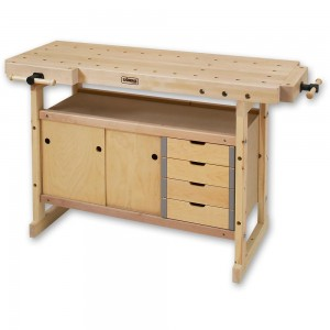 Sjobergs Nordic Plus 1450 Bench & 0042 Storage Module