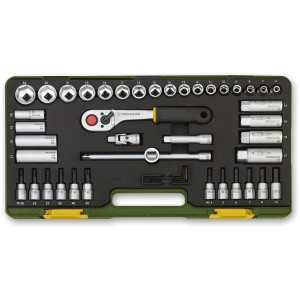 "Proxxon 47 Piece Compact Socket Set (3/8"")"