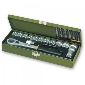 "Proxxon 14 Piece Specialist Workshop Socket Set (1/2"")"