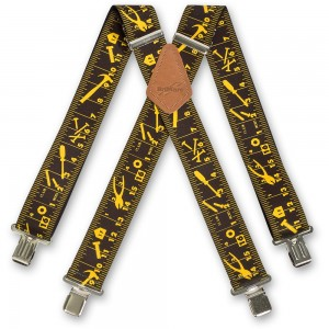 Black Tape Measure Braces
