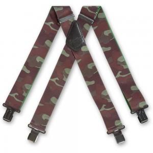 Woodland Camouflage Braces
