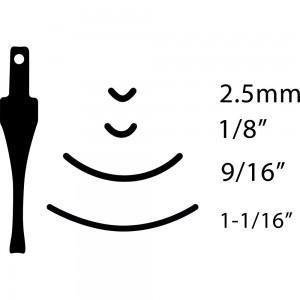 Flexcut SK Carving Gouges No.5 Sweep