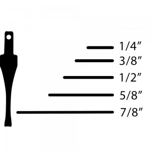 "Flexcut SK Chisel - Straight 5/8"""