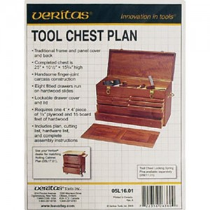 Veritas Tool Chest and Rolling Cabinet Plans