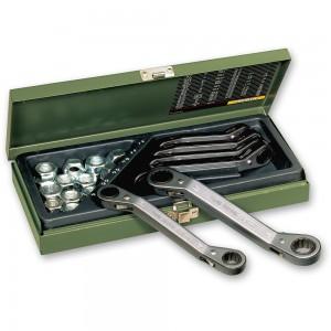 Proxxon 6 Piece Metric Speeder Ratchet Spanner Set