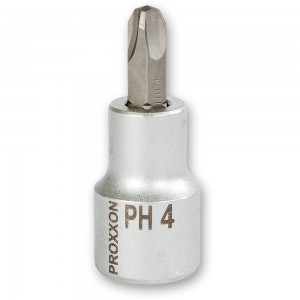 "Proxxon 1/2"" Drive Phillips Screwdriver Bits"