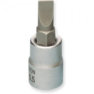 "Proxxon 3/8"" Drive Slotted Screwdriver Bits"