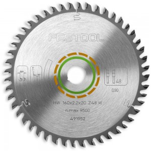 Festool 160mm TCT Saw Blades