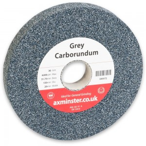 Axminster Aluminium Oxide 'Grey' Grinding Wheels - 150mm