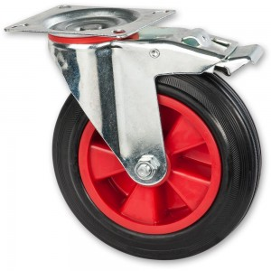 Axminster 200mm Castors & Wheels