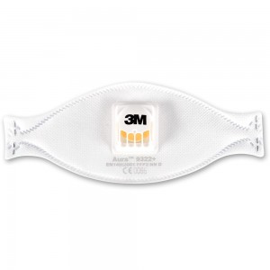 3M Aura 9322+ Disposable Respirator