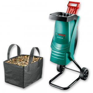 Bosch AXT Rapid 2200 Garden Shredder with Waste Bag