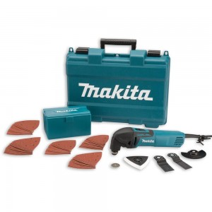 Makita TM3000CX4 Multi-Tool with 57 Accessories
