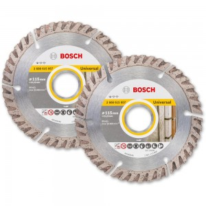 Bosch 115mm Diamond Disc Twinpack