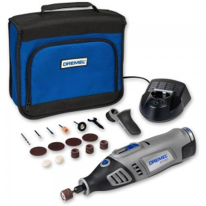 Dremel 8100-1/15 Li-Ion Cordless Multi-Tool with 15 Accessories 7.2V (1.3Ah)