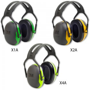 3M Peltor X Series Ear Defenders