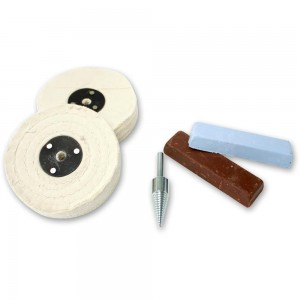 Heavy Duty Polishing Kit for Brass, Copper & Non-Ferrous Metals