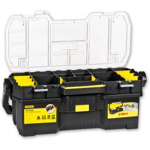 Stanley Toolbox with Tote Tray Organiser
