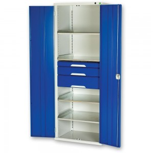 bott Verso Kitted Cupboard 4 Shelves 3 Drawers