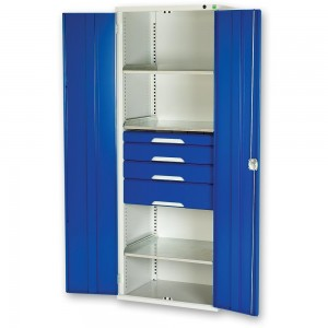 bott Verso Kitted Cupboard 3 Shelves 4 Drawers