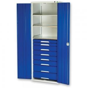 bott Verso Kitted Cupboard 3 Shelves 8 Drawers