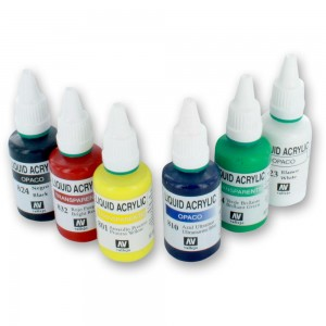 SprayCraft Acrylic Airbrush Paint Set