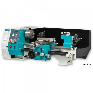 Axminster Engineer Series SC4 Bench Lathe & Floor Stand - PACKAGE DEAL