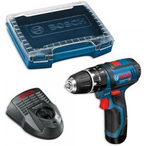 Bosch GSB 12V-15 Cordless Combi Drill & i-Boxx Case 10.8V / 12V (2.0Ah)