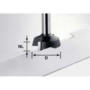 Festool Facing Cutter 8mm Shank