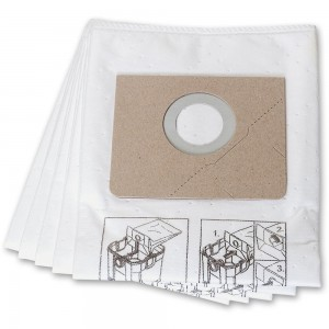 FEIN Filter Bags for Dustex 25L & 35L (Pkt 5)