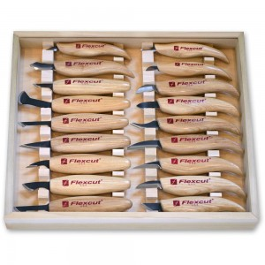Flexcut KN250 Deluxe Knife Set