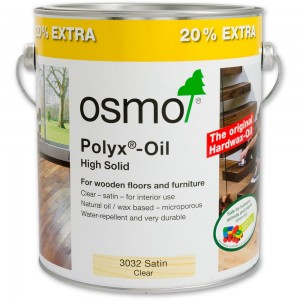 Osmo Polyx Hard-Wax Oil 3032 Satin 2.5ltr