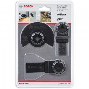 Bosch Wood & Metal Multi-Tool Set (Starlock)