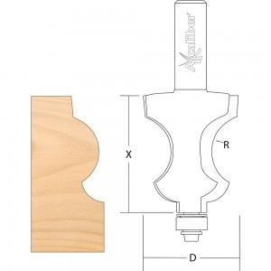 Axcaliber Victorian Skirting Mould Cutter