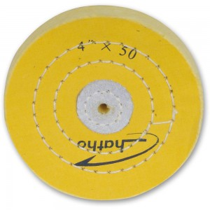 Proxxon Treated Muslin Polishing Wheel 100 x 15mm For PM 100