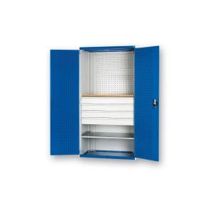 bott Cubio Workshop Cupboard 4 Drawer 1 Shelf