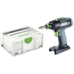 Festool T15+3 Li Cordless Drill Driver 14.4V (Body Only)