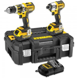 DeWALT DCK259MT2 Brushless Twin Pack 18V (4.0Ah)