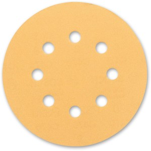 Bosch C470 Gold 125mm 8 Hole Abrasive Discs